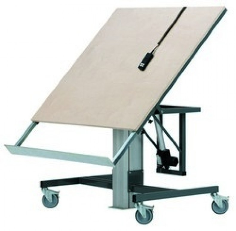 Tilting Work Table
