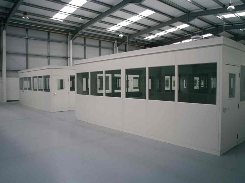 Industrial Office Partitioning