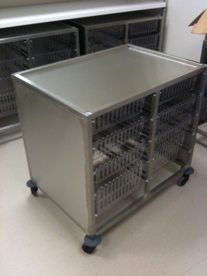 Lab Stainless Steel Trolley