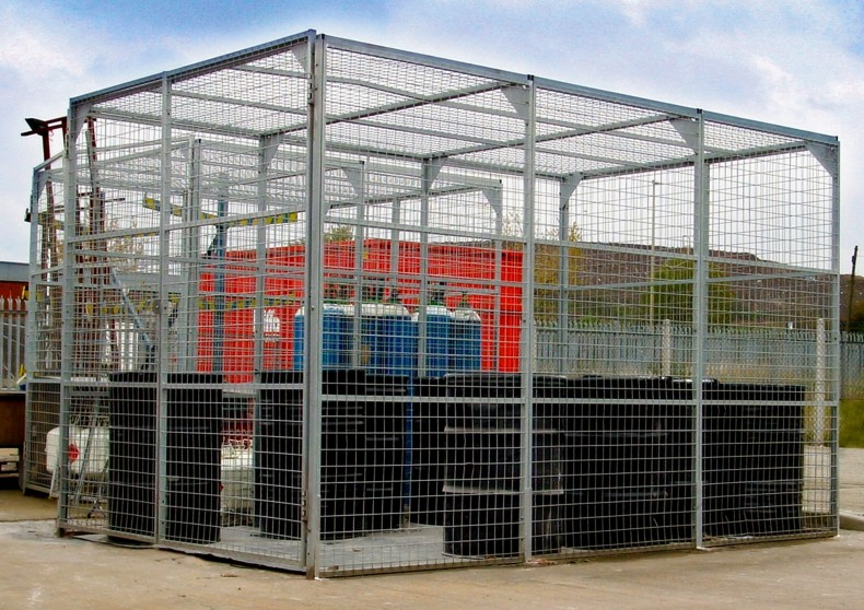 Outside Stores Caging and Partitioning