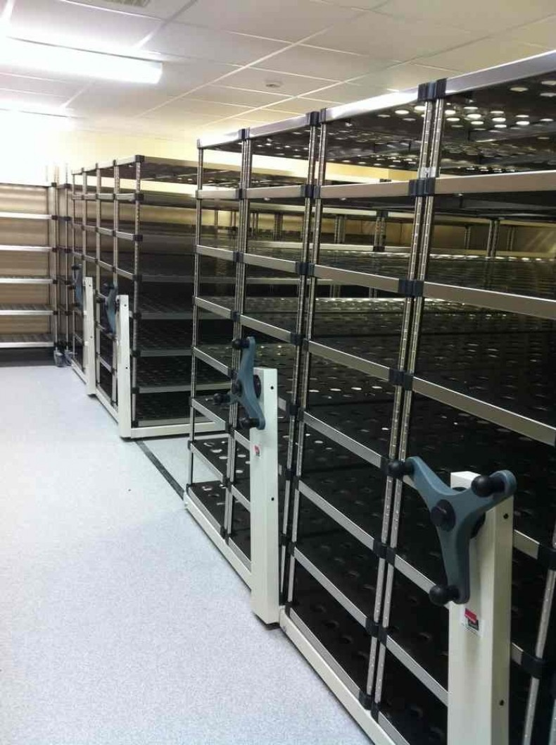 Laboratory Stainless Steel Mobile Shelving