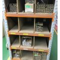Fluorescent Tube Storage Rack