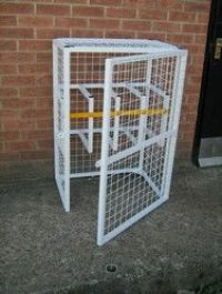 medical gas cylinder cage and rack - Gas Cylinder Cages