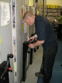 Mobile Shelving and Mobile Filing Units Servicing and Repairs