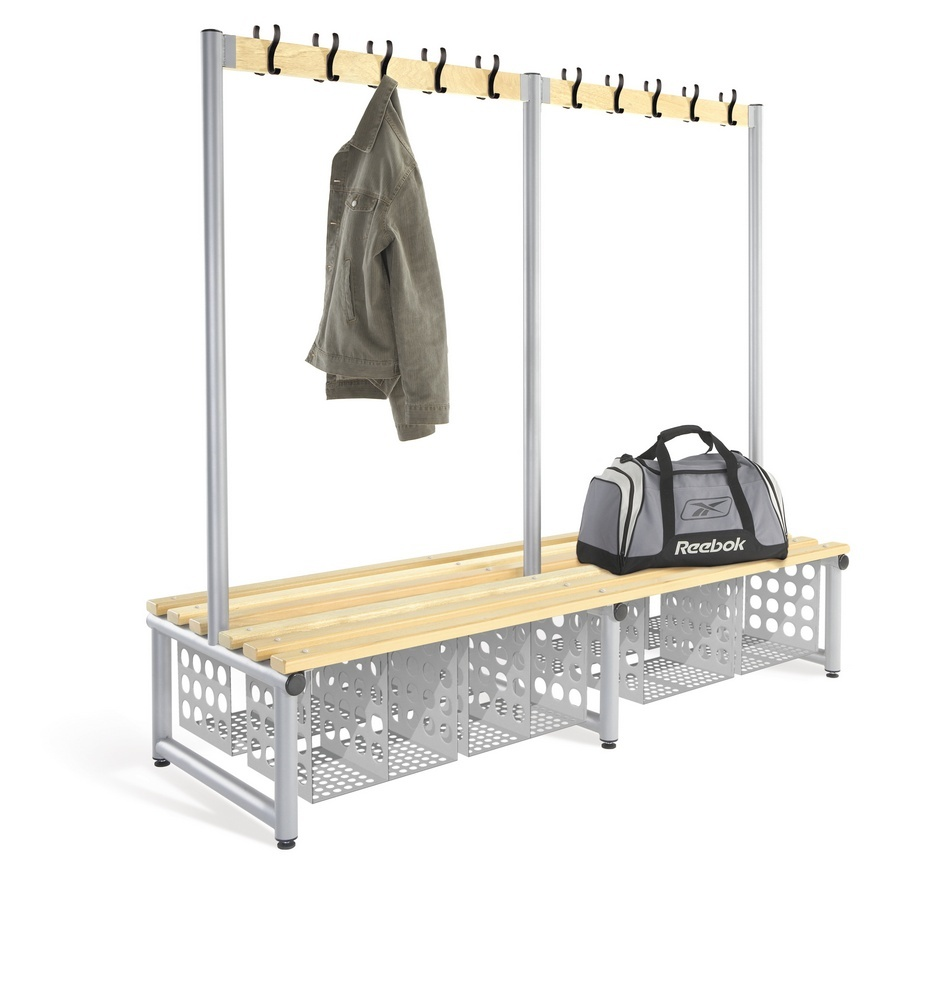 Changing Room Benches With Shoe Storage