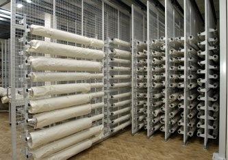 Fabric Rolls Storage Racks