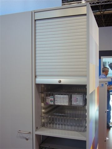Htm71 Storage Cupboard With Roller Shutter Door